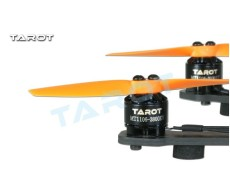 Tarot MT1106-3800KV Brushless Motor TL150M2 with 1 pair 3 Inch Propeller for RC Racer Copters Helicopter