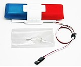 G.T.Power RC Model Car Lighting System with 8 Flashing Modes Night Flash Bright Blue Red Leds