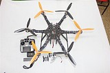 DIY Drone Quadcopter Upgraded Full Kit HMF S550 9045 3-Propeller 6Axis Multi Hexacopter UFO RTF/ARF & 2-Axis Gimbal
