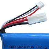 Feilun 1PCS 7.4V 1500mAh Lipo Battery / Rechargeable Replace Upgrade Battery for Feilun FT009 RC Boat Spare Parts