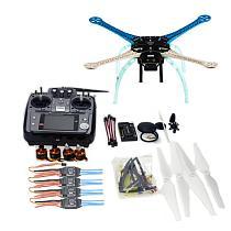 DIY GPS Drone S500-PCB Multi-Rotor Frame Full Kit APM2.8 2.4G AT10 TX&RX Motor ESC NO Battery Charger