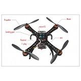S500-PCB DIY GPS Drone Multi-Rotor Frame Full Kit APM2.8 AT10 TX&RX Motor ESC