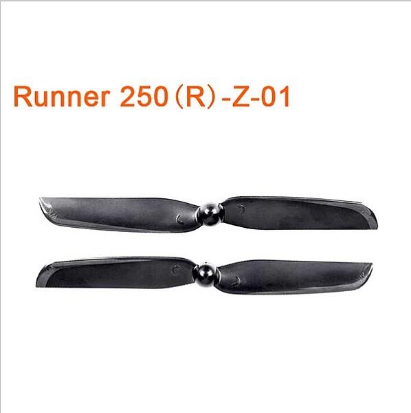 1 Pair Original Walkera Runner 250 Advance Propellers Spare Parts Propeller Set CW&CCW Propeller Runner 250PRO?250(R)-Z-
