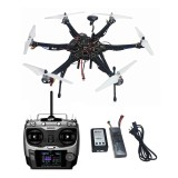 Assembled HMF S550 F550 Upgrade RTF Kit with Landing Gear & APM 2.8 Flight Controller GPS Compass No Gimbal