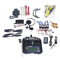 Full Set RC Drone Quadrocopter 4-axis Aircraft Kit F330 MultiCopter Frame 6M GPS APM2.8 Flight Control Flysky FS-i6 TX