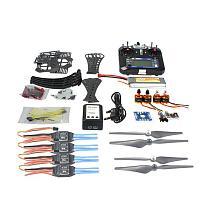 DIY RC Drone Quadrocopter RTF X4M360L Frame Kit QQSuper Flysky FS-i6 TX