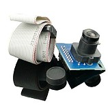 OV7620 CMOS Digital Camera Version 4 Focal Length 3.6mm Viewing Angle 90 Degree Compatible with K60