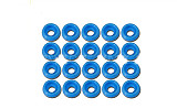 Tarot 20 Pcs M2.5 Spacer Washer TL2819-01 Blue for GB Screws RC Helicopter Parts