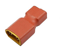XT60 Male to T Dean Female Plug Conversion Connector For Battery & Charger