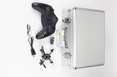 Hubsan Micro X4 2.4GHz 4 Channel Mini Quadcopter UFO RTF H107 4CH Helicopter+carry Case Box