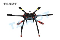 TAROT Drone X6 ALL Carbon HEXA Kit With Retractable Landing Skid TL6X001