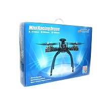 Full Kit DIY Mini Racing Drone 310 Fiberglass Frame Racer Helicopter MICRO F3 Flight Controller AT9 FS-i6 Transmitter F1