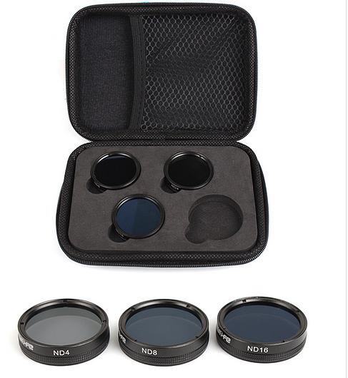 Sunnylife Adjustable 3 In 1 Filter ?ND4 + ND8 + ND16 Multi-layer Coating for DJI Phantom 4 PRO/ PRO+