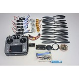 F02015-J 6Axis Foldable Rack RC Helicopter Kit APM2.8 Flight Control Board+GPS+1000KV Motor+10x4.7 Propeller+30A ESC+AT1
