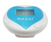 MASAI Digital Pedometer Multifunction Distance Calorie Measurement Heart