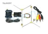Tarot TL300N5 1.2G 600MW AV Wireless Wiring Transmitter Receiver TX RX Set with 1.2G Antenna for FPV