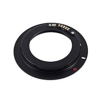 Generic M42-EOS Aluminum Alloy Lens Adapter Ring for M42 and CANON Camera Mount Adapter Color Black