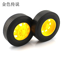 JMT 3 * 42mm Truck Rubber Wheel DIY Model Wheel Technology Production Truck Front And Rear Wheel Material