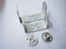 Robot servo spare parts: Metal U holder + round servo mount Bracket