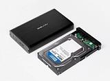 Universal Acasis BA-06USI 3.5inch Aluminum IDE SATA USB 2.0 Serial Parallel Dual Using HDD Enclosure Hard Drive Box