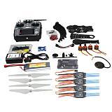 Full Set DIY RC Drone Quadrocopter X4M380L Frame Kit APM2.8 GPS AT10 TX F14893-N