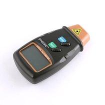 Generic Digital LCD Laser Photo Tachometer Non Contact Tach 2234C+ Color Black