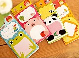 F07496 xt-xinte 1 PC Cute Cartoon Animal Shape Memo Pad Note Paper N-time Sticker Sticky Notes Message Book + Freepost