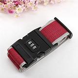 Travel Luggage Belt Suitcase Strap Secure Password Lock Safe Belt Strap Baggage Backpack Belt