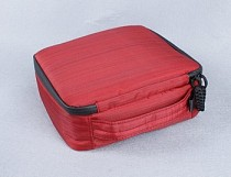 2pcs Camera Space 20*20*7 Weather Resistant Soft Case Storage Bag for Gopro Hero 3+ 3 2 Color Red