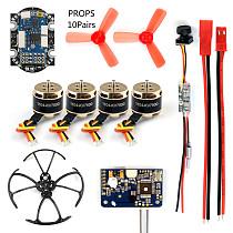 DIY RC Mini Racer FPV Drone kit with R6DSM/X9D/FS-X6B/RFASB Receiver 25mw 800TVL VTX+CAMERA 4in1 ESC F3 Flight Controller Motor