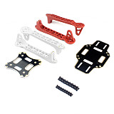 F330 MultiCopter Frame Airframe Flame Wheel kit White/Red As DJI For KK MK MWC 4 axis RC Quadcopter UFO
