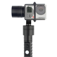 3-Axis Handheld Stabilizing Gimbal Action Camera Stabilizer Video Shock Absorber 320 Degree Control for Sport Cameras