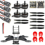 DIY Toys RC FPV Drone Mini Racer Quadcopter 190mm Carbon Fiber Racing Frame Kit SP Racing F3 Deluxe Flight Controller