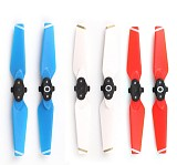2pairs 4730F Folding Portable CW CCW Colorful Porps Propeller Accessories for DJI Spark Drone 4-axis Aircraft F21737/9