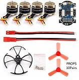 DIY Accessory SE1104 KV7500 with 4 in 1 ESC F3 Flight Controller Support DSHOT Props Bumper for Mini Racer FPV Drone Quadcopter