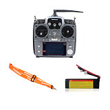 Radiolink AT10 2.4G 10CH Intelligent RC Transmitter with RX support S.BUS/PPM/PWM for all RC Model Multi-Copter Build in Battery
