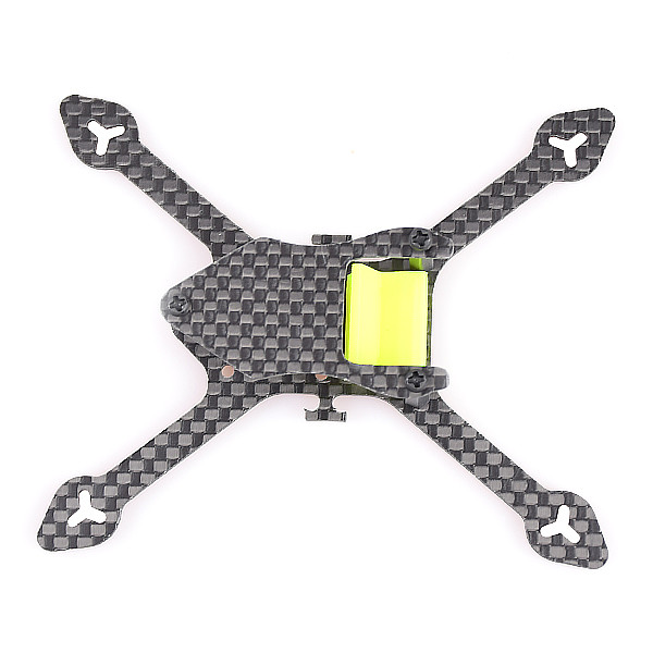 Bat-100 100MM Carbon Fiber Frame Kit X Shape for DIY Micro FPV Racing Quadcopter Drone