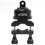 XT-XINTE OEM Helmet 360 Swivel Rotating Bar Mount for 22-32MM Selfshot Arm Gopro 3 3+ Plus Cycling Skydiving Skiing
