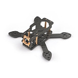 Toad 90 Full Carbon Fiber 2.5mm 90mm Wheelbase for DIY Brushless FPV RC Racing Drone Rack