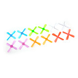 2 pairs 3035 pro Propeller 3 inch CW CCW Props 76mm PC Paddle 4 Blade for indoor brushless FPV Racer 5mm hole
