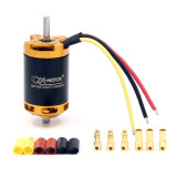 QX-MOTOR 70mm 6 Blades/12 Baldes Ducted Fan EDF Motor QF2827 2300KV/2600KV Brushless Motor 3-4S Lipo for Jet RC Airplanes