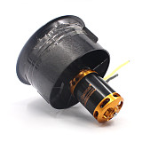 QX Motor 64mm EDF Ducted Fan Set 5 Blades Electric with 3-4s 4300KV Brushless Motor Outrunner QF2822 for Jet AirPlane