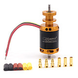 QX-MOTOR 64mm 12 Blades Ducted Fan Jet EDF QF2822 3500KV /4300KV Brushless Motor 3-4S Lipo for RC Airplanes