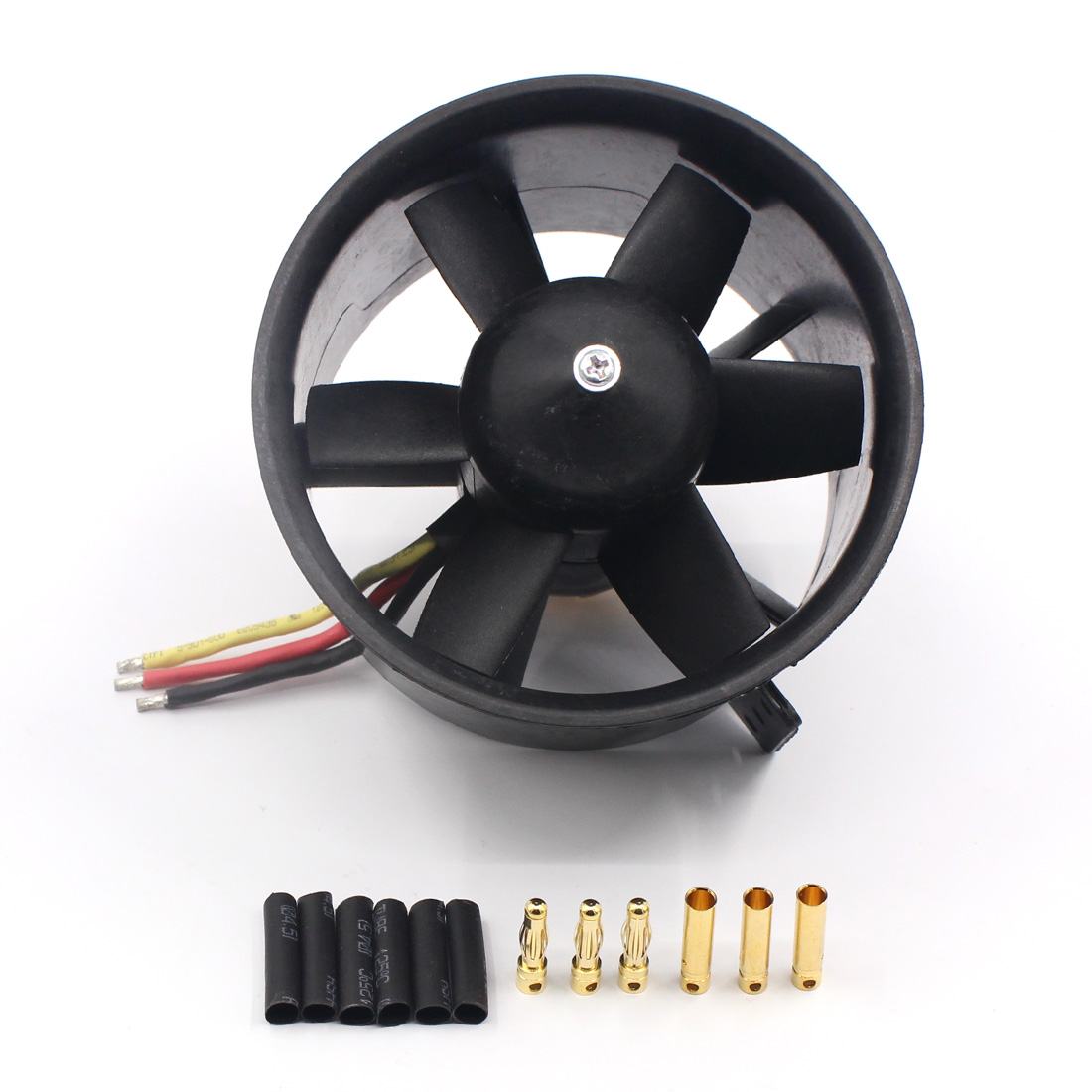 Us 35 91 Qx 90mm Edf Ducted Fan Motor 6 Blades Qf3530 1750kv Brushless Balance Tested For Jet Rc Airplane Multicopter Www Xt Xinte