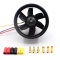 55mm/64mm 6/5 Blades EDF Ducted Fan with QF2611 3500KV/4500KV Brushless Motor for RC Drone Ducted