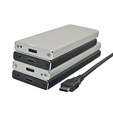 ITHOO Type-C GEN1 USB3.1 HDD Enclosure M.2 NGFF SSD to USB3.1 Type-C Hard Drive Disk Case Box 5Gbps Support