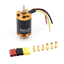 QX QF2827 70mm 3500KV Brushless Motor for 1500g RC Airplane 6 Blades EDF Unit Ducted Fan QX-Motor