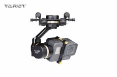 Tarot 3D V Metal 3 axis PTZ Gimbal Camera Stablizer TL3T05 for GOPRO Action Camera FPV Drone