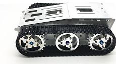 4wd Metal Tank Smart Crawler Robotic Chassis for DIY RC Robot Toy Car