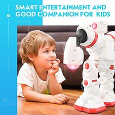 JJRC R3 RC Robot Toys Intelligent Programming Dancing Gesture Sensor Control Blue Red for Children Kids Birthday Gifts Present